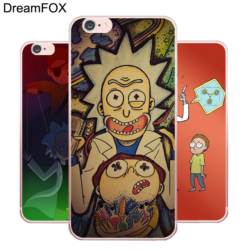 L231 Rick Ve Morty Sezon Yumuşak TPU Silikon Kılıf Kapak Apple iPhone X 8 7 6 6 S Artı 5 5 S SE 5C 4 4 S